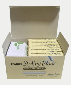 feather styling blades