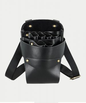 leather pouch front
