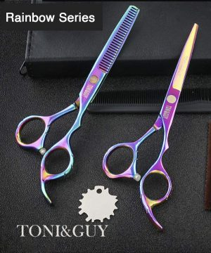 toni and guy rainbow scissors