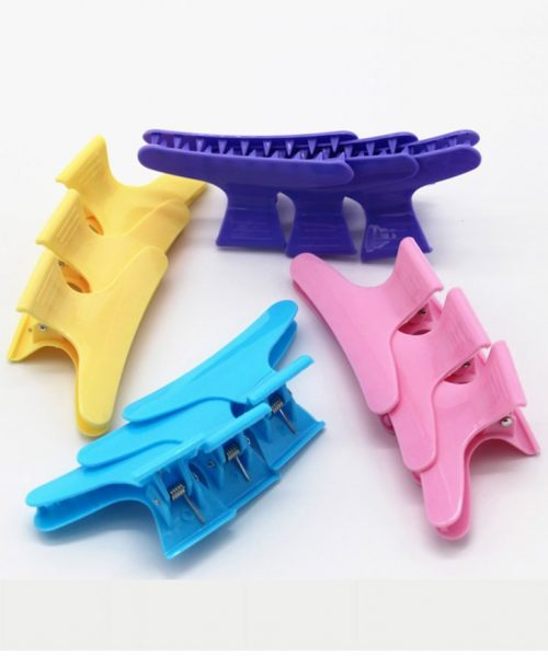 mix color wide hairclips