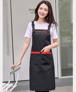 premium apron black