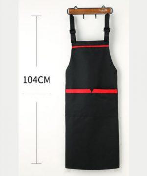 premium apron black dimensions